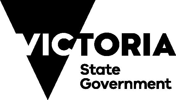 Victoria State Government Logo Black